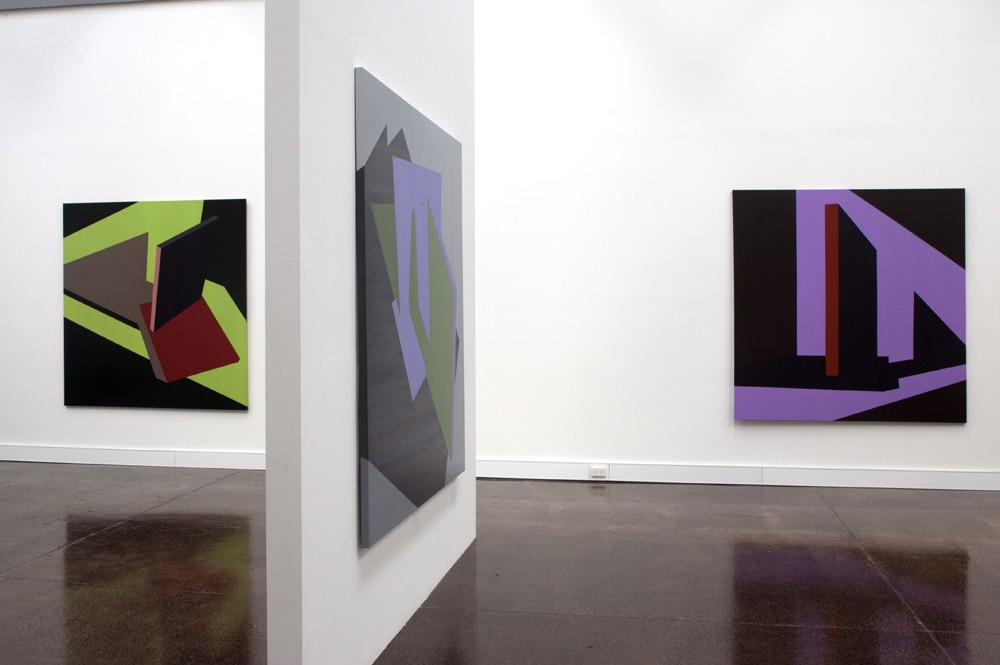 Installation view by